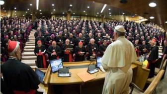 L'assemblée du Synodes des évêques à Rome en 2015