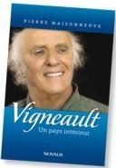 Couverture du nouveau livre de Gilles vigneault chez Novalis