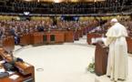 """"""" Les droits humains ne peuvent être des droits individualistes"""" - Le pape François au Conseil de l'Europe le 25 novembre 2014"""