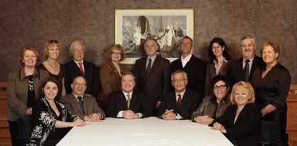 Photo des membres du Centre de la francophonie des Amériques prise à l'été 2008