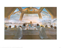 Dernière cène par Salvator Dali
