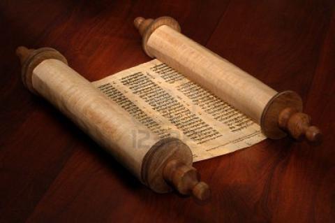 Manuscrit ancien pour la lecture de la Parole de Dieu (Domaine public)