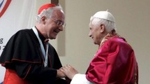 Le cardinal Ouellet et le pape Benoît XVI