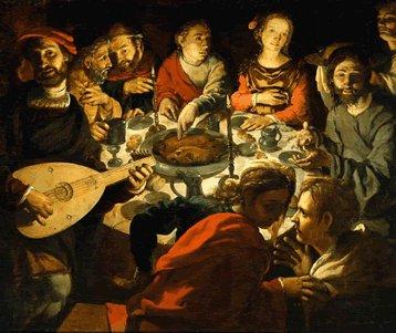 « Jésus était à table...» - Homélie pour l'anniversaire du décès de monsieur le chanoine Jean-Charles Racine