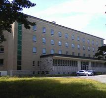 La résidence du Petit Séminaire diocésain de Québec au 2215, rue Marie-Victorin à Sillery (Québec),