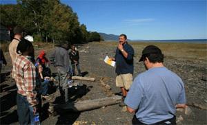 Activité de détente et de ressourcement au bord du fleuve