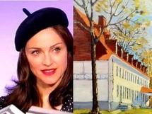 Madonna et le Château Bellevue à Petit Cap (Cap Tourmente)