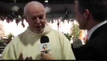 Entrevue à ECDQ.tv lors de l'inauguration du ministère pastoral de Mgr Lacroix le 25 mars 2011
