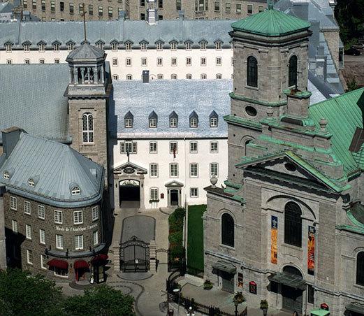Entrrée du Musée de l'Amérique française au 2, de la Fabrique à Québec