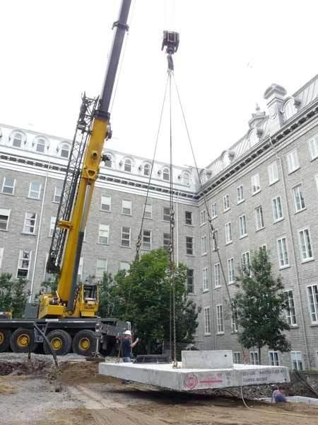 La géothermie fait son entrée au Séminaire de Québec