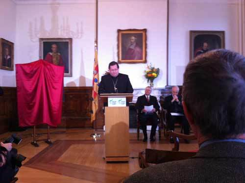 « 350 ans de vision, d'audace et d'engagement » Allocution de Mgr Gérald C. Lacroix, conférence de presse du 5 décembre 2012