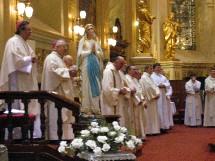 Statue de Notre-Dame de Lourdes