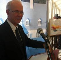 Le Supérieur général du Séminaire de Québec, monsieur le chanoine Jacques Roberge (Photo H. Giguère)