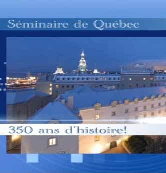 Une présentation limpide et claire de ce qu'a été la mission du Séminaire de Québec au cours des 350 ans de son histoire et de ce qu'elle est aujourd'hui
