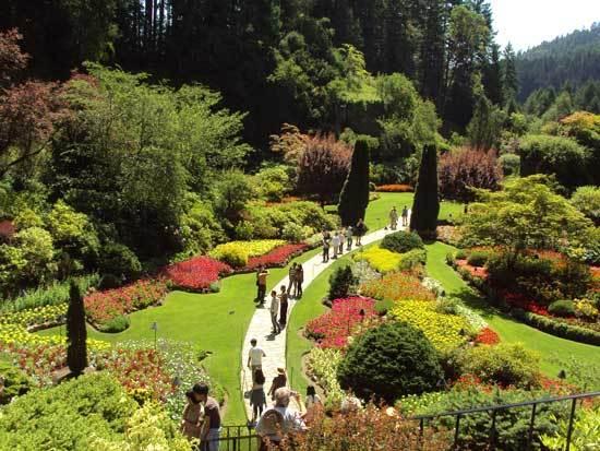 Butchart's Gardens à Victoria B.C. Canada (Photo H. Giguère)
