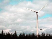 Parcs éoliens de la Seigneurie de Beaupré (Photo H. Giguère)