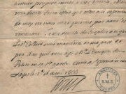 Lettre du roi Louis XIV à Mgr de Laval en avril 1666
