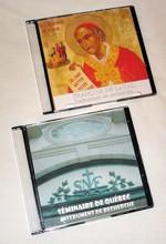 Couvertures des CDRom recherche sur François de Laval et sur l`histoire du Séminaire de Québec
