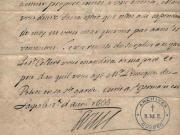 Lettres patentes de Louis XIV pour la fondation du Séminaire de Québec en 1663.