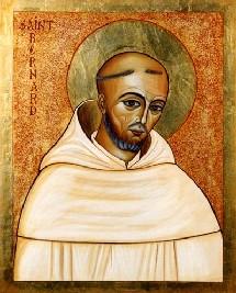 Icône de Saint Bernard de Clairvaux