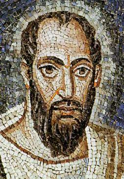 Mosaïque représentant saint Paul