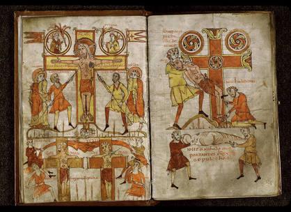 Bible du Val-de-Loire, fin 9e-début 10e siècle  s. Angers, ms 24, folios 7v-8r
