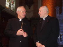 Le cardinal Ouellet et le Supérieur général