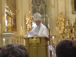 Le cardinal Tomko à la Basilique-Cathédrale Notre-Dame de Québec le 18 mai 2007