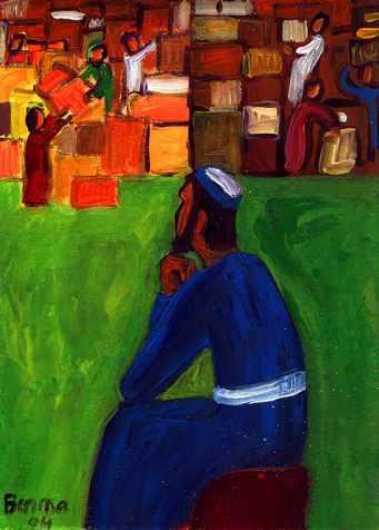 S'enrichir... de Dieu (Crédits photo : Bernadette Lopez, alias Berna dans Évangile et peinture )