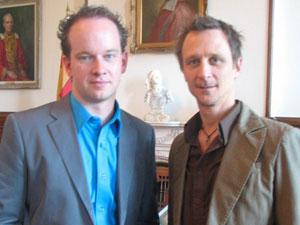 Olivier Dufour, producteur et Ghislain Turcotte, concepteur