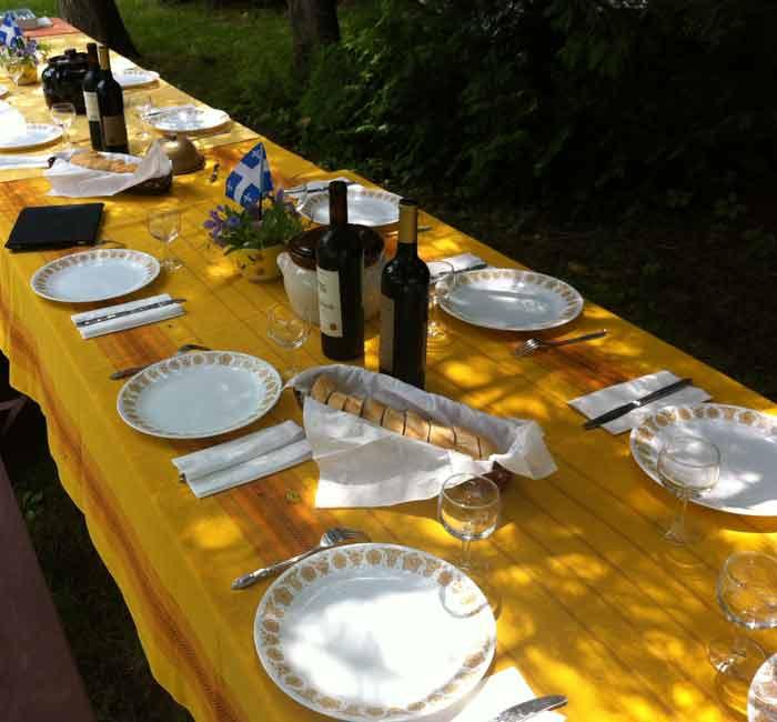 La table est prête Mathieu 22, 1-14 (Crédits photo : H. Giguère).