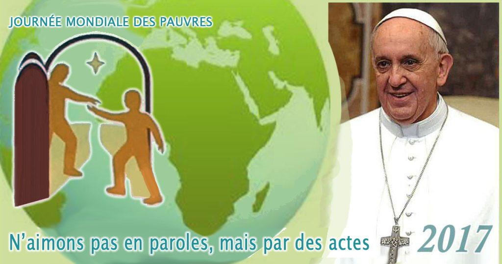 Affiche de la Journée mondiale pour les pauvres 2017 ( Domaine public)
