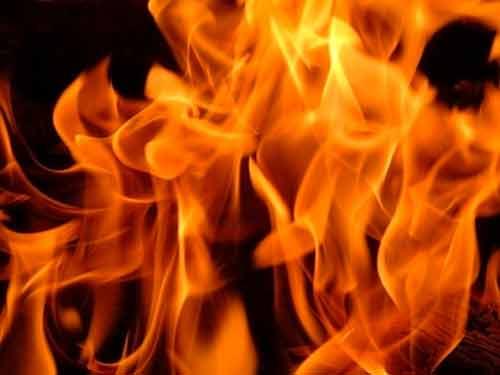 « Je suis venu apporter un feu sur la terre » (Domaine public)