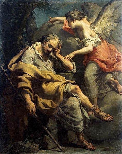 Le songe de Joseph par Gaetano Gandolfi, 1790 (Crédits photo : Domaine public via Wikimedia Commons)