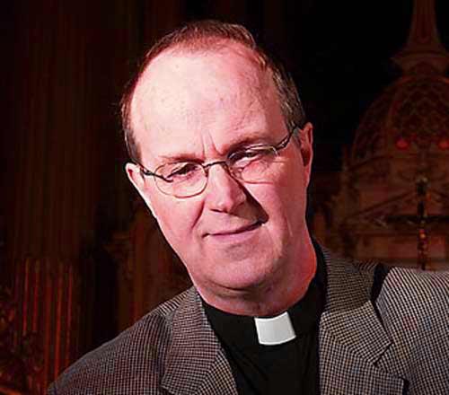 Photo de l'abbé Michel Poitras, recteur du Grand Séminaire de Québec