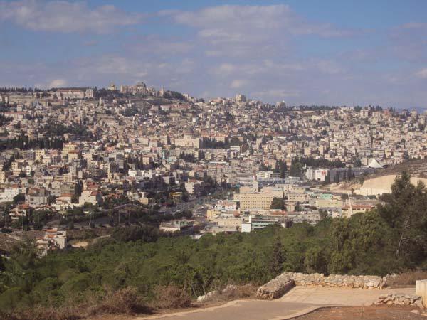 Nazareth aujourd'hui en 2013 (Crédits photo H. Giguère)