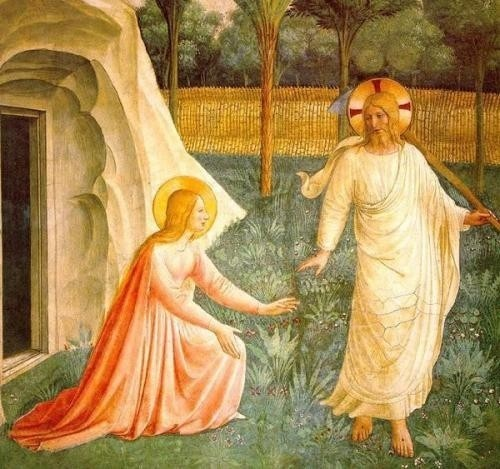 Apparition à Marie-Madeleine par Fra Angelico