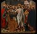 Huile sur panneau dans l'église Saint-Thomas, une église romane située à Llupia dans le département français des Pyrénées-Orientales. Premier quart du XVIe siècle par le Maître de Llupia (Crédits photo : Commune de Llupia). C'est en 1998 , lors des travaux de restauration du retable baroque de l'église de Saint-Thomas que des panneaux gothiques peints d'un ancien retable ont été découverts.
