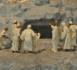 Scène de la résurrection de Lazare tirée de Via Vitae (« Chemin de Vie »), chef d'œuvre de l'orfèvre et joailler parisien Joseph Chaumet (1852-1928) représentant les principales scènes de la vie de Jésus, musée eucharistique du Hiéron, Paray-le-Monial, Saône-et-Loire, France.  (Crédits photo : © Croquant / Wikimedia Commons / CC BY-SA 3.0 & GFDL)