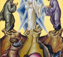 Homélie pour la Solennité de la Transfiguration du Seigneur Année A « Il fut transfiguré devant eux »