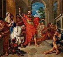 Année paulienne : Homélie sur le discours de saint Paul à Athènes en Actes 17, 16-34 - Mercredi de la 6e semaine de Pâques.