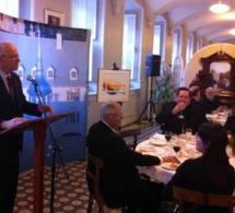 Réception des autorités de la Ville de Québec pour le 350e anniversaire de fondation du Séminaire de Québec - Allocution du Supérieur général