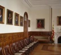 Conseil supérieur de la langue française: visite au Séminaire de Québec des récipiendaires de prix et distinctions
