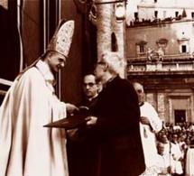 Un moment inoubliable : la clôture du concile Vatican II le 8 décembre 1965 dont c'est le 50e anniversaire en ce 8 décembre 2015