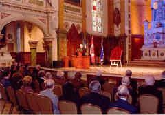 Discours du Supérieur général du Séminaire de Québec aux invités
