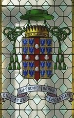 Armoiries de saint François de Laval léguées au Séminaire de Québec