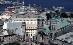 Vue d'ensemble du site du Séminaire de Québec