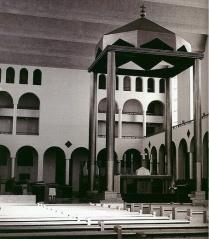 Chapelle Grand Séminaire Cité Universitaire Québec1960