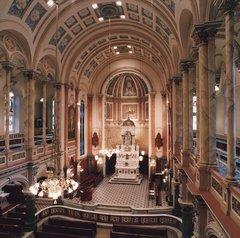 Chapelle extérieure du Séminaire devenue Chapelle du Musée de l'Amérique française