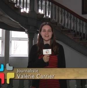 Vidéo de Valérie Carrier sur le 350e anniversaire de fondation du Séminaire de Québec produit  par ECDQ.tv